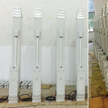 Телескопическая электромеханическая мачта